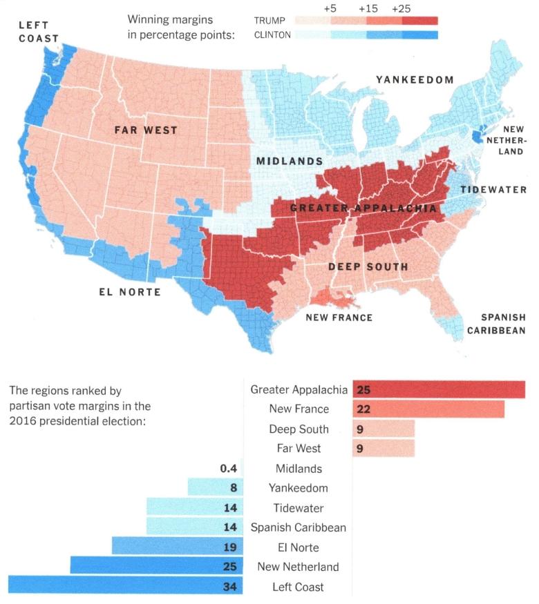 2016 Vote Map