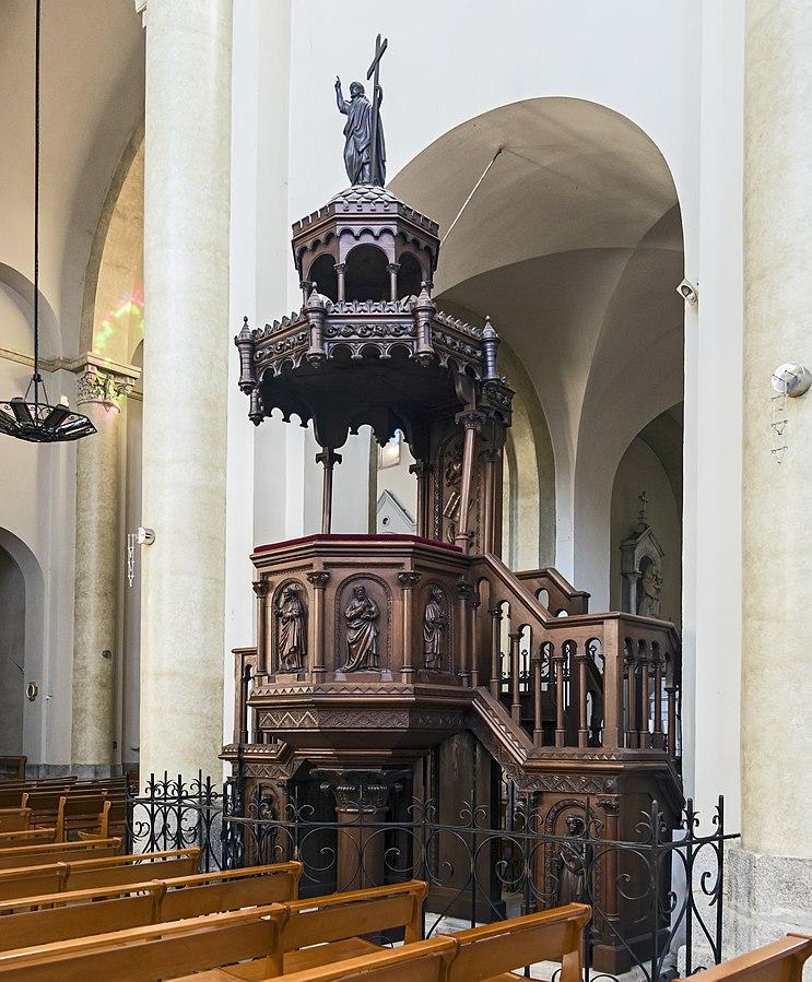 Eglise Notre-Dame de Revel - Interior - Pulpit