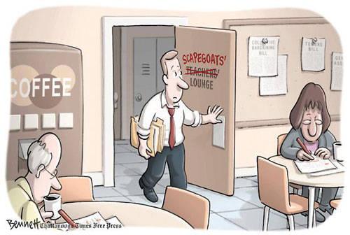 Teacher-Scapegoats